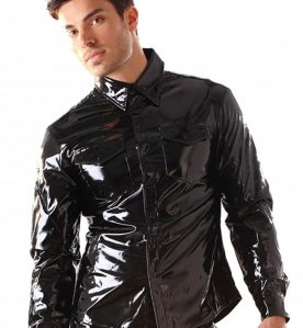 PVC Fitted Shirt