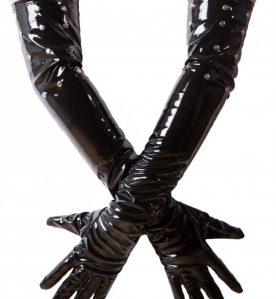 PVC Studded Gloves