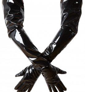 Shoulder Length PVC Gloves