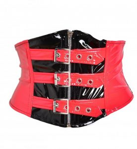 PVC Buckle Waspie Belt