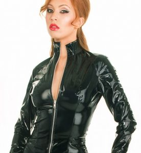 PVC Fitted Zip Jacket