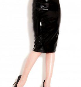 PVC Monroe Pencil Skirt