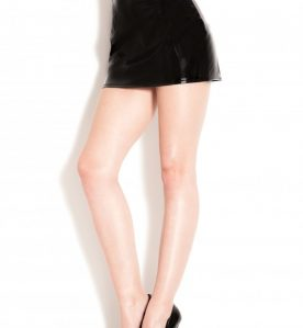 PVC Barely There Skirt