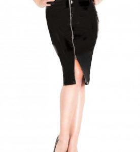 PVC Temptress Skirt