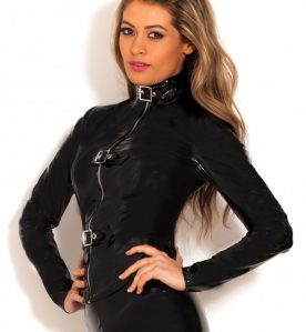 PVC Slayer Buckle Top