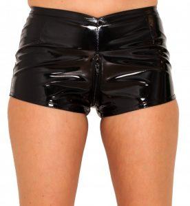 PVC Daisy Dukes Shorts