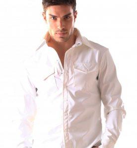 White PVC Shirt