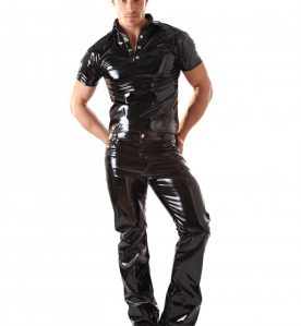 PVC Classic Boot Cut Jeans