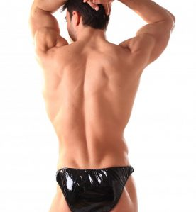 PVC Male Bikini Briefs