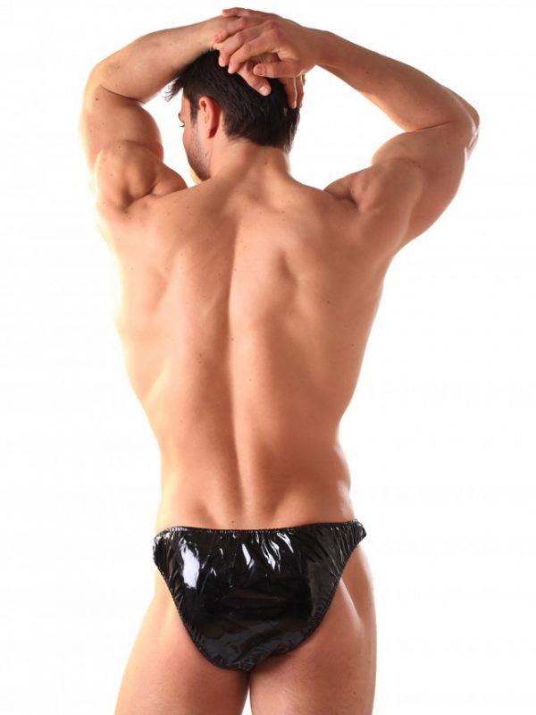 PVC Male Bikini Briefs