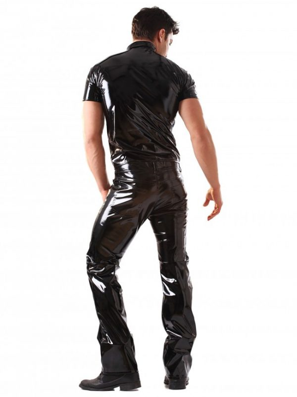 PVC Male Polo Top