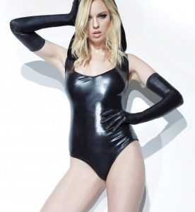 Trinity Wetlook Hooded Body