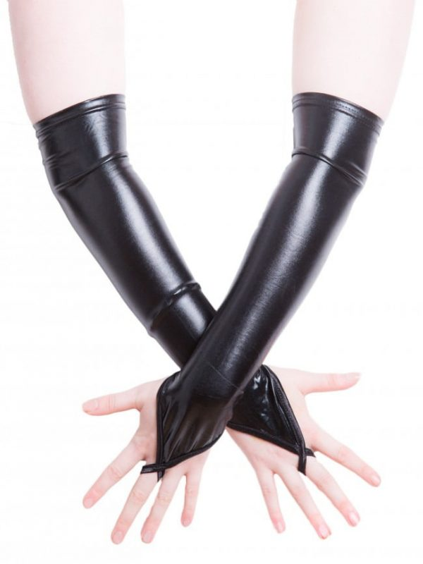 Wetlook Fingerless Gloves
