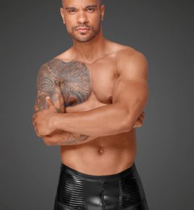 Powerwetlook and PVC Men's Shorts