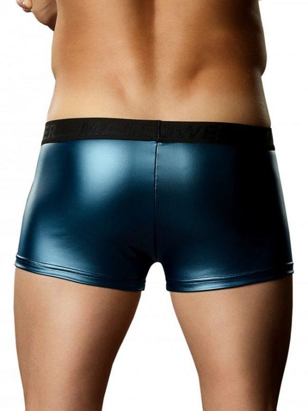 Male Power Blue Mini Pouch Short