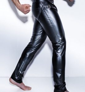 Powerwetlook Easy-Access Trousers with Harness