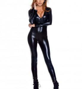 Wetlook V-Neck Catsuit