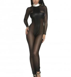 Sinful Sister Catsuit Set
